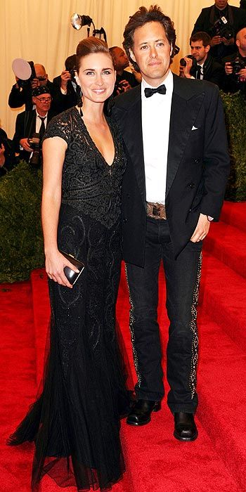Met Gala -  Lauren Bush and David Lauren