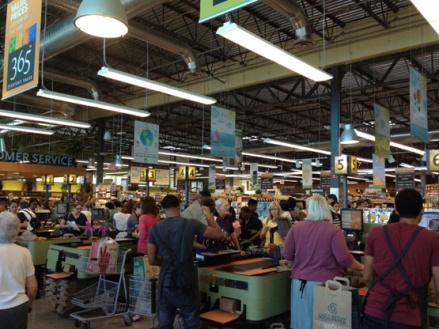 whole foods checkout