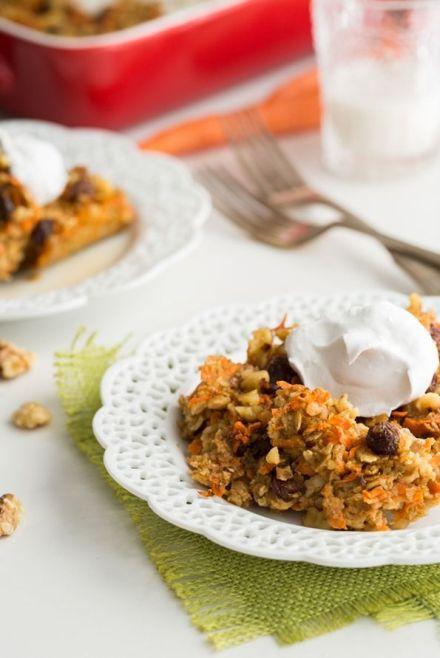 carrot cake oatmeal